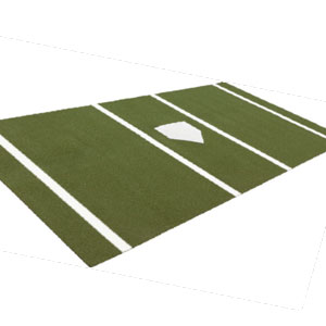 6 x 12 standard batting mat