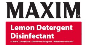 Maxim Lemon Detergent Disinfectant